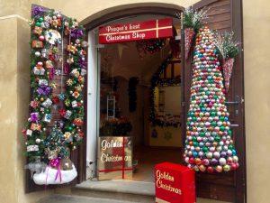Decorațiuni de Crăciun, Praga