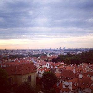 Praga privită din Castel