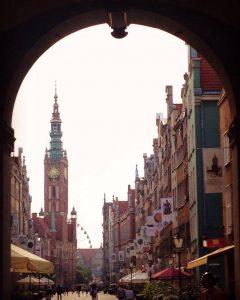 Strada Dluga din Gdansk, Polonia
