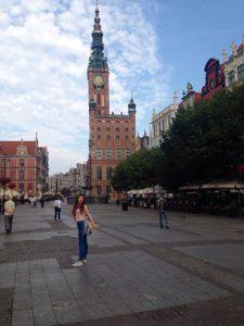 Vechea Primărie din Gdansk, Polonia
