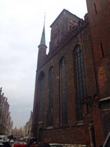 Catedrala Sfanta Maria din Gdansk, Polonia