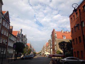 Strada din Gdansk, Polonia