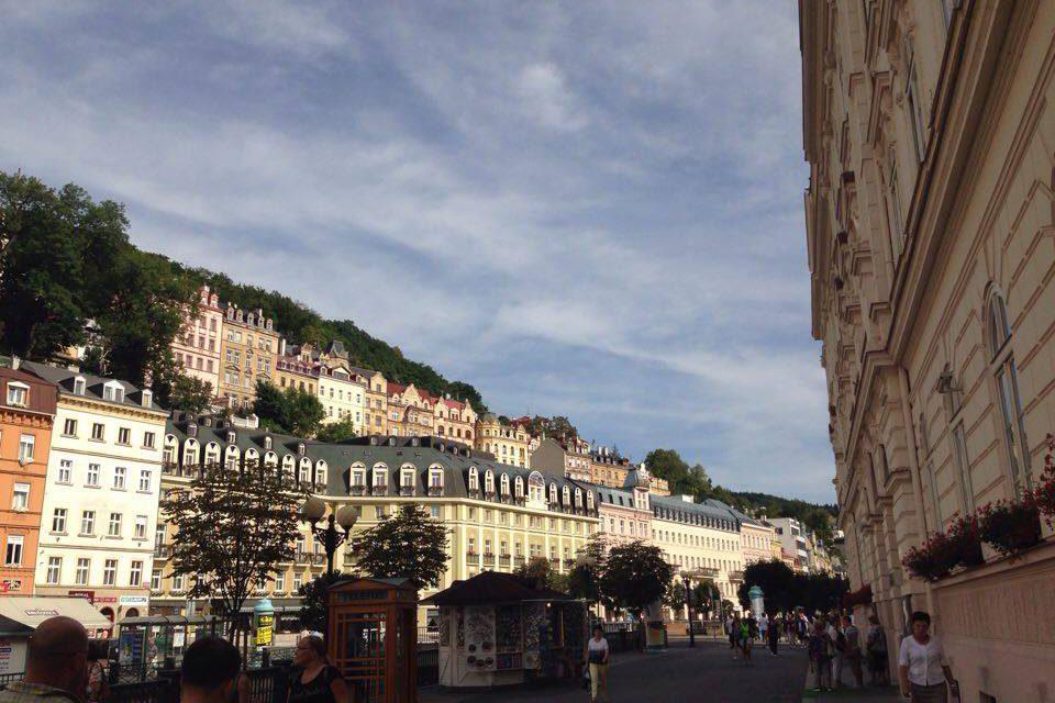 La plimbare prin Karlovy Vary