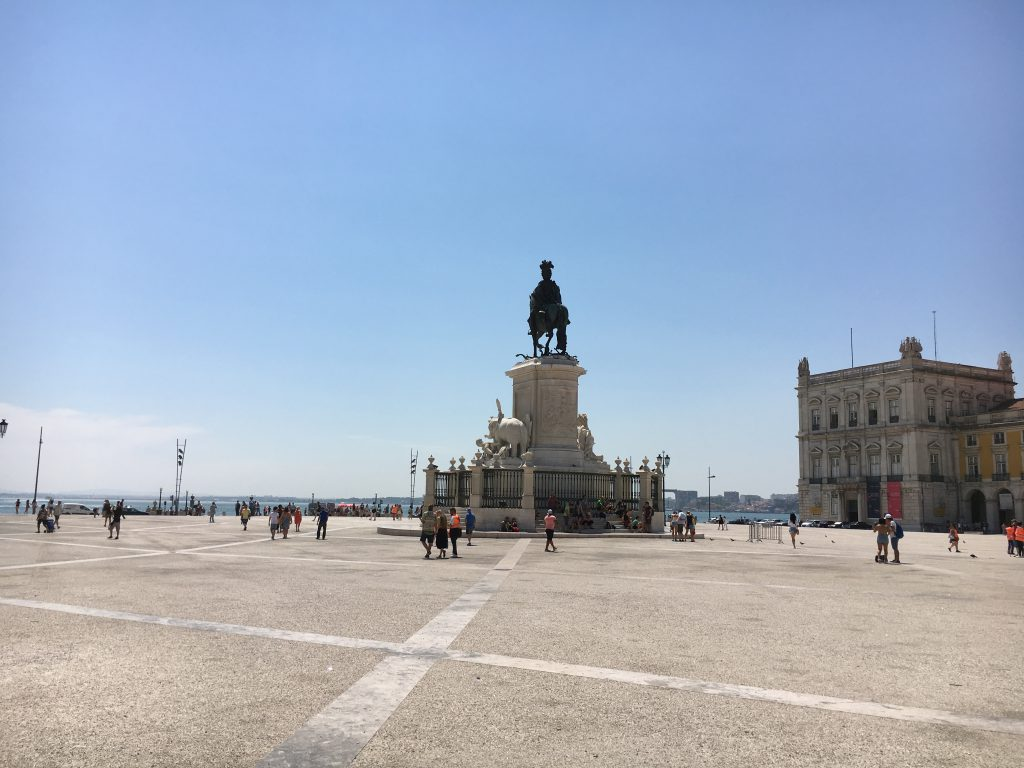 Praca do Comercio, Lisabona