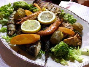 Pește și fructe de mare, Portugalia