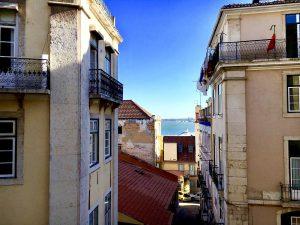 Cartierul Alfama din Lisabona