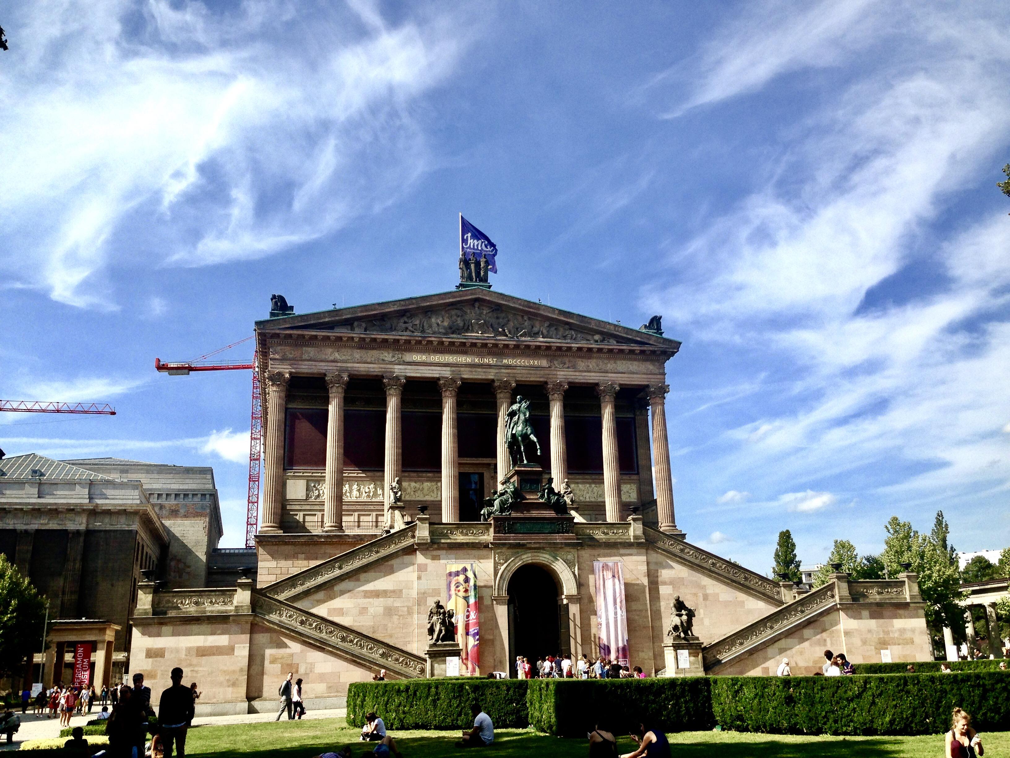 Un alt obiectiv situat pe Insula muzeelor, Alte Nationalgalerie
