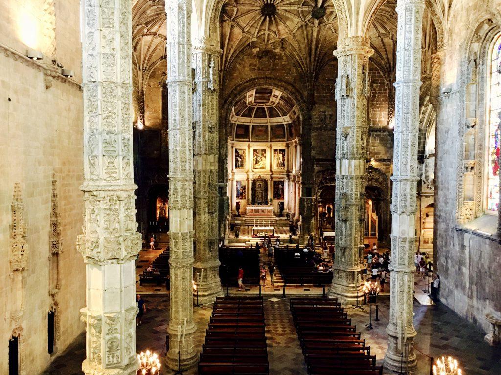 Mănăstirea Jeronimos în imagini