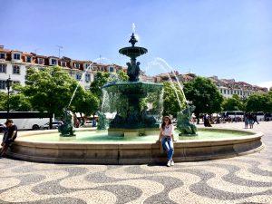 Lisabona – cartierul Baixa și cartierul Bairro Alto