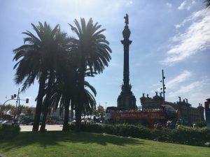Statuia lui Cristofor Columb, Barcelona