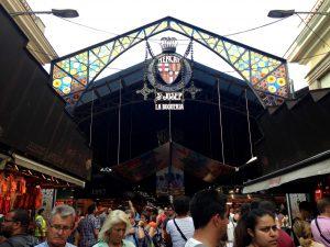 Piața La Boqueria, Barcelona