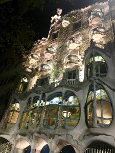 Casa Batllo de Antoni Gaudi, Barcelona, Spania