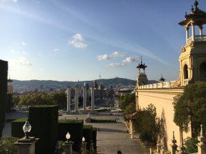 Barcelona – Montjuic și Placa Espana