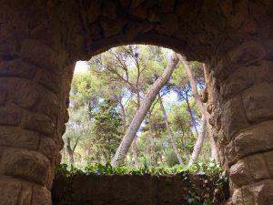 Parcul Guell de Antoni Gaudi, Barcelona