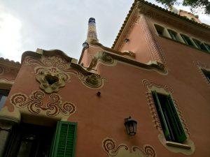 Casa lui Antoni Gaudi din Parcul Guell, Barcelona