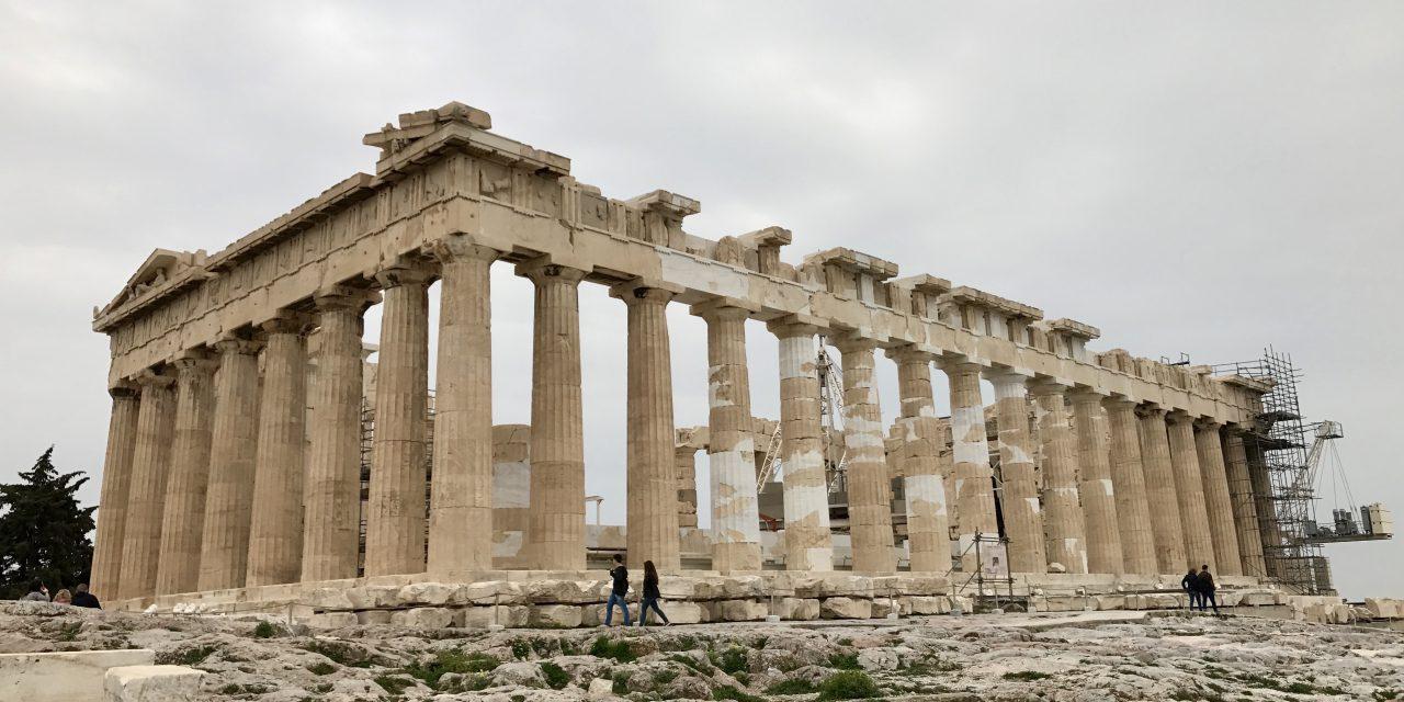 Acropole din Atena în imagini