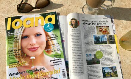 Visător prin lume în Revista Ioana