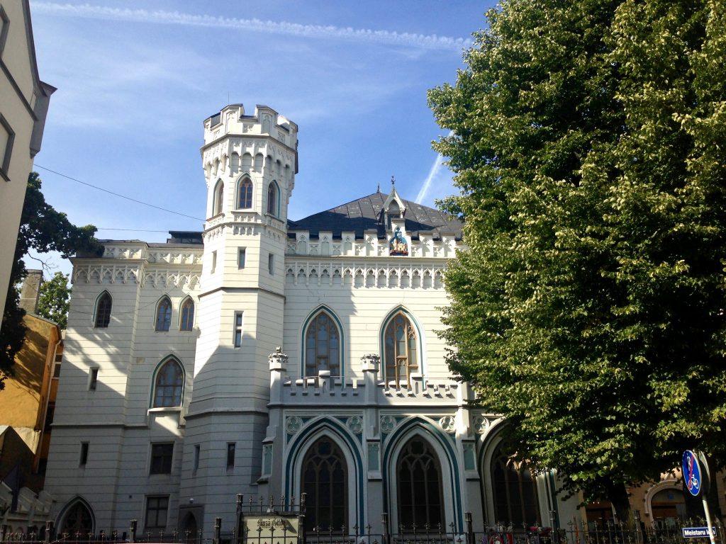 Casa Mică a Breslelor, Riga
