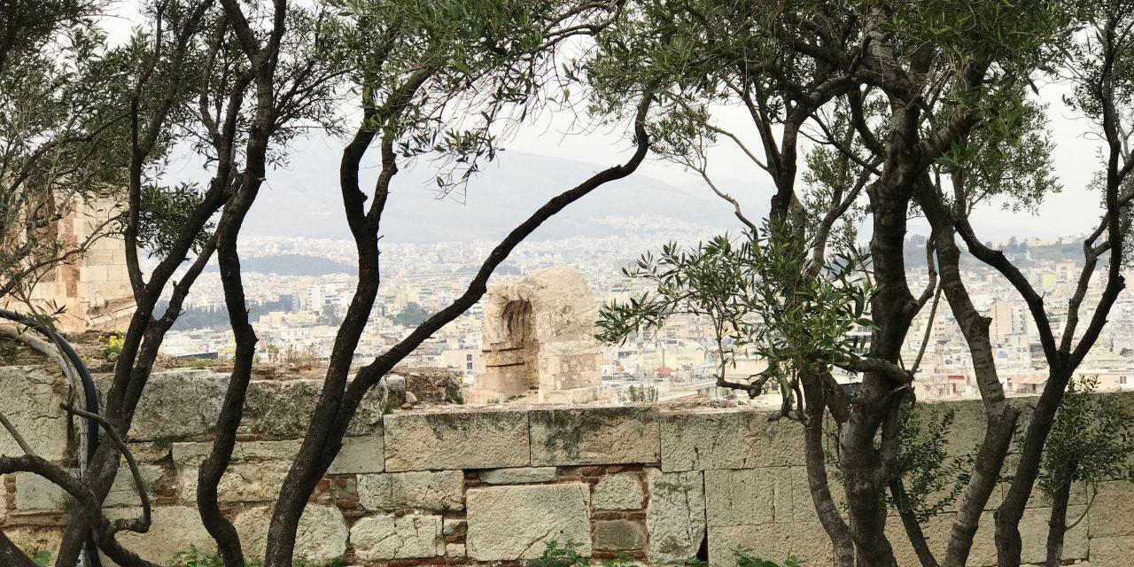 Atena – zeiță în orașul zeilor