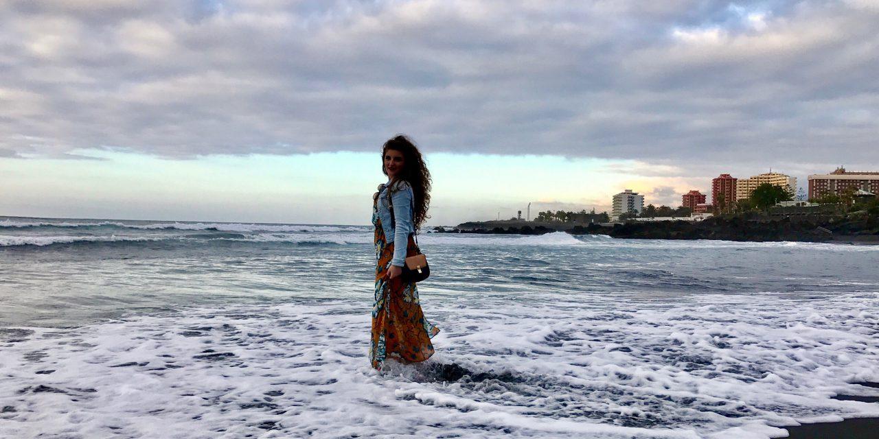Tenerife – de la ocean, deasupra norilor