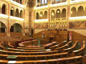 Sala în care se reunește Adunarea Națională a Ungariei