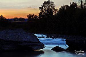 Andrei Adam - Râul Ialomița seara