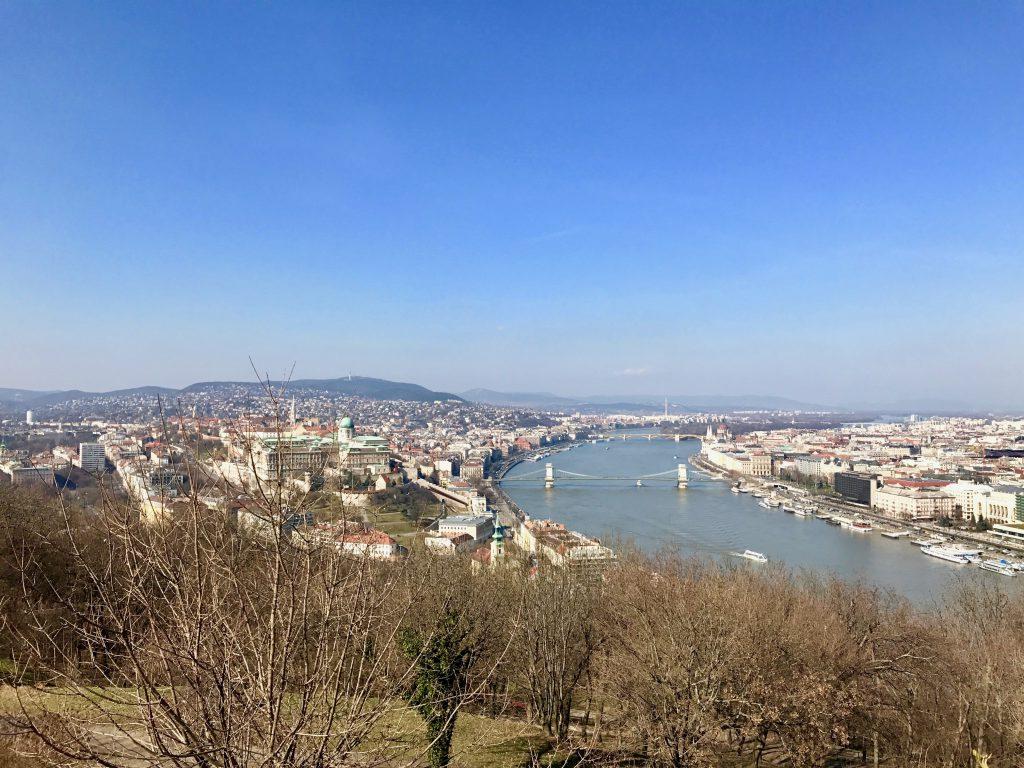 Budapesta privită de la Citadela
