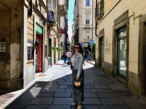 Plimbare pe străzile din Torino