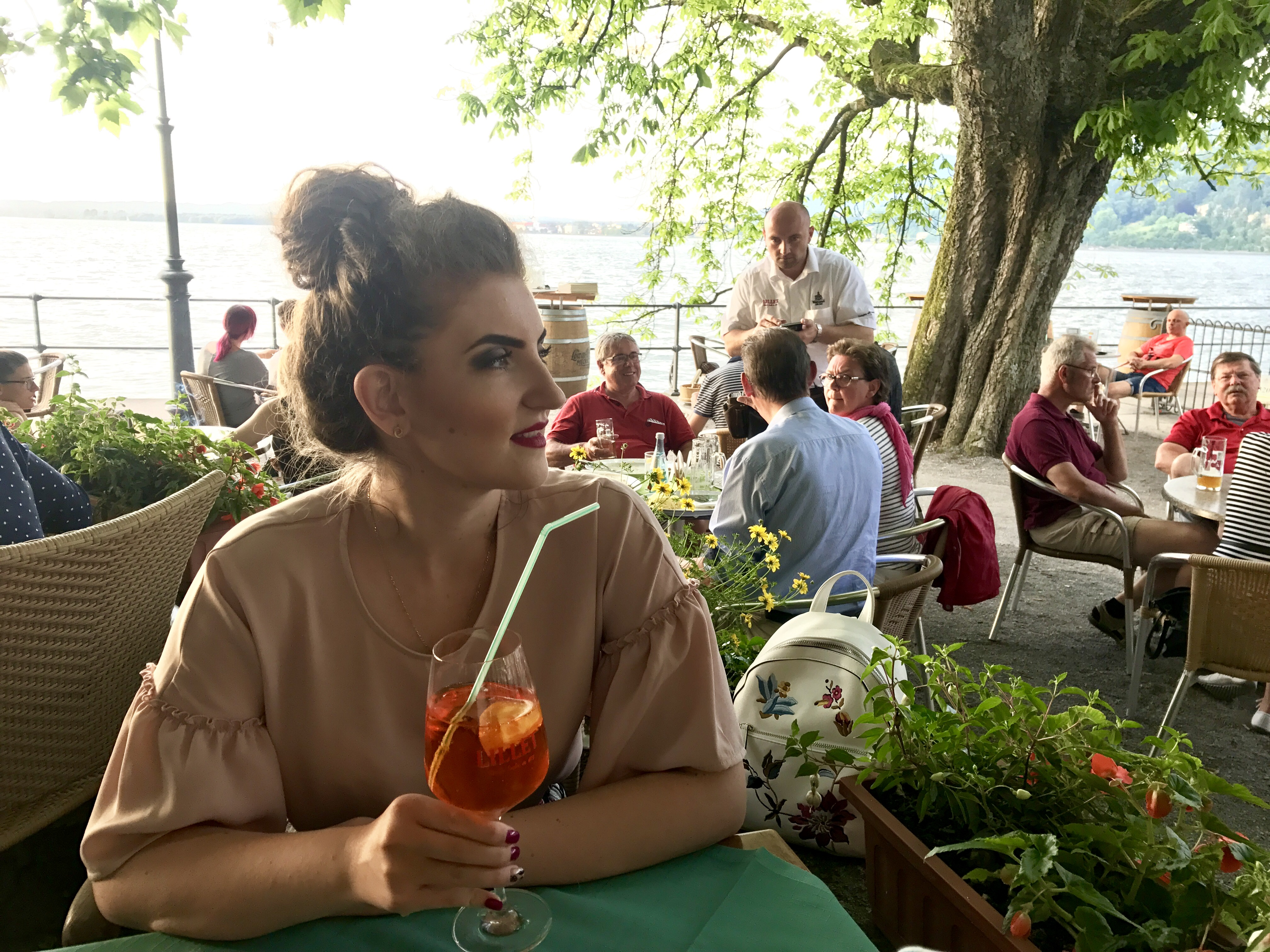 Cină pe lacul Constanța