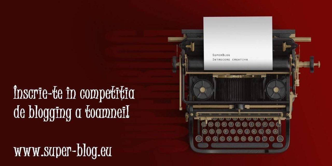 De la blogger la SuperBlogger – începe SuperBlog 2017