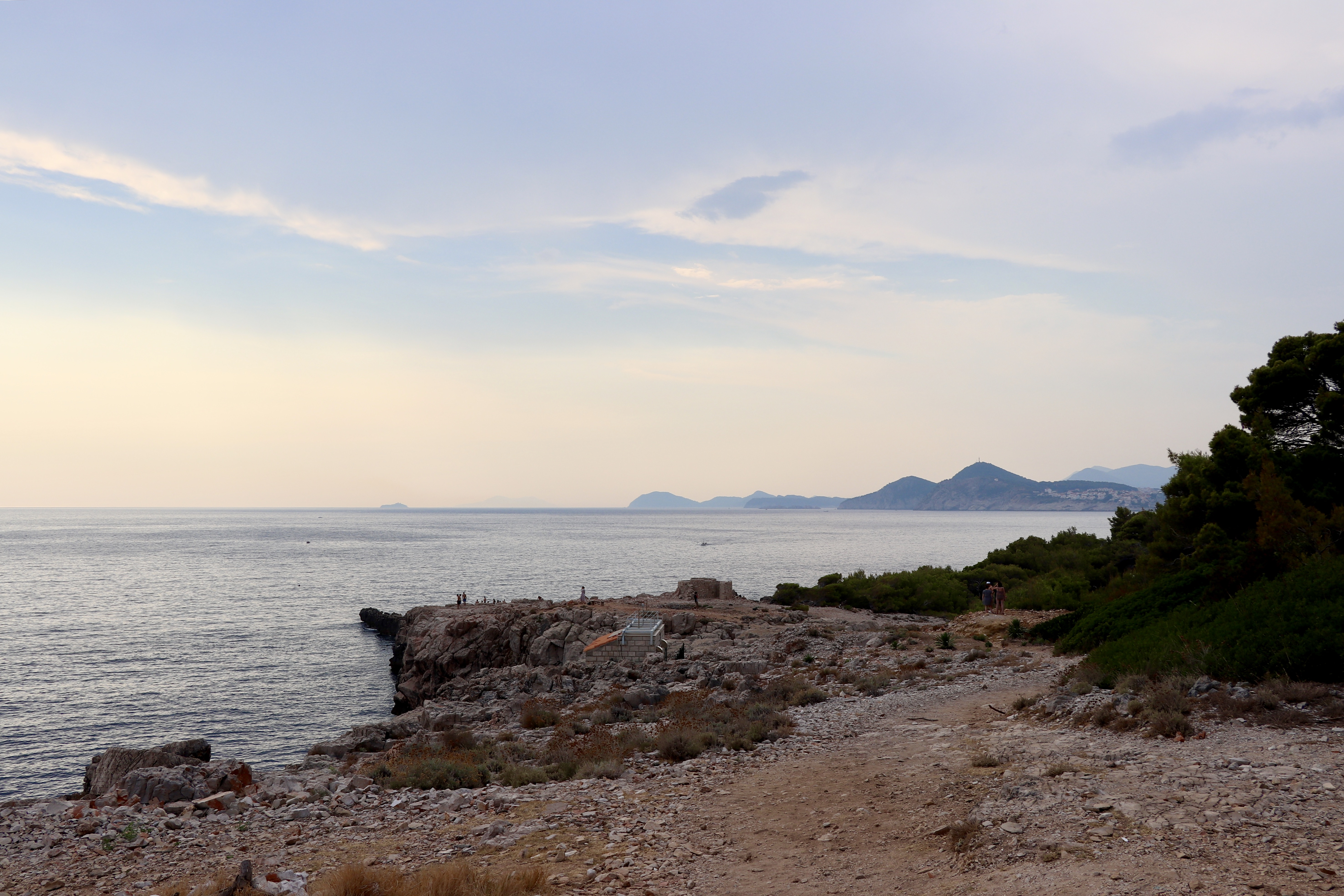 Insula Lokrum - Visator prin lume