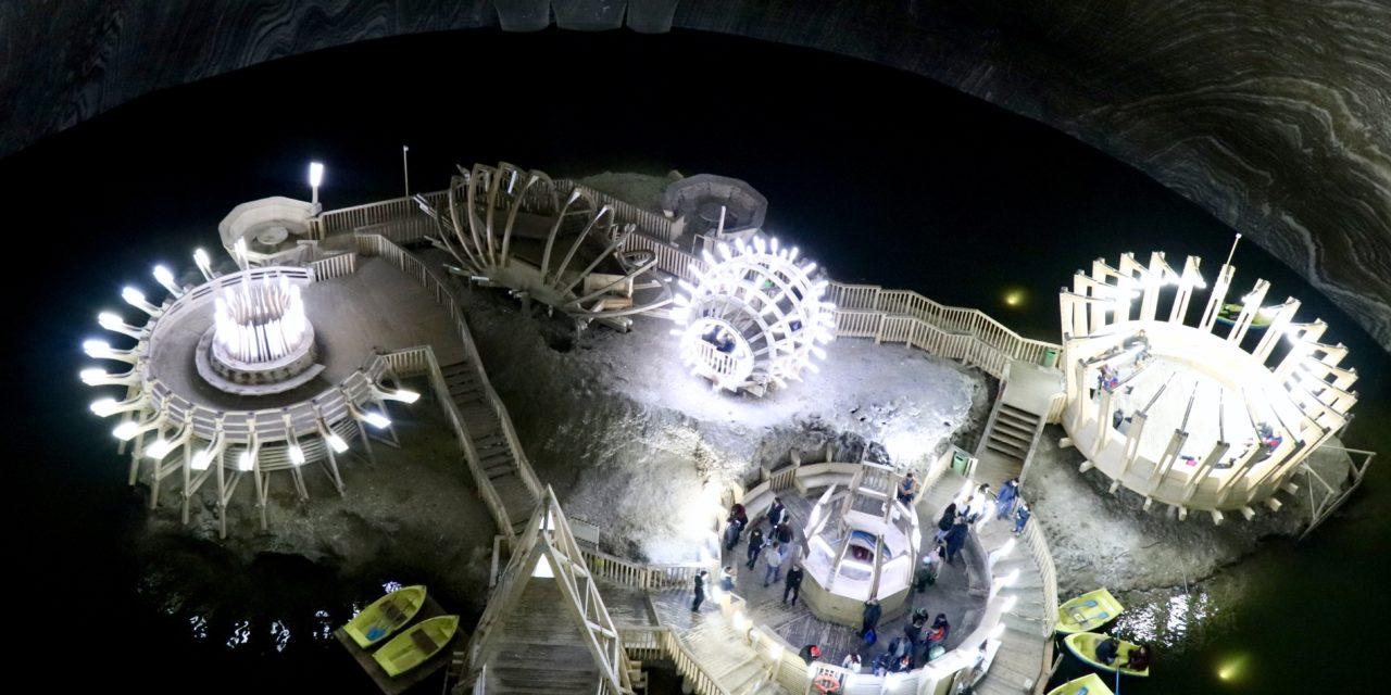 Salina Turda – spectacolul din subteran