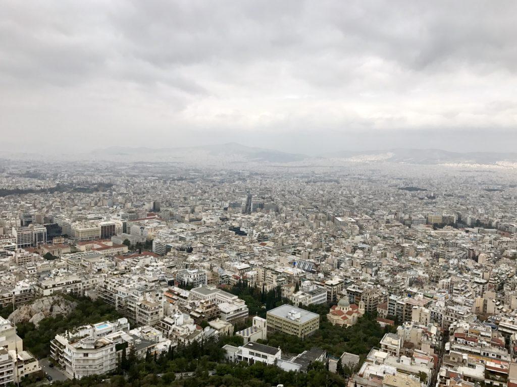 Atena - Dealul Lycabettus