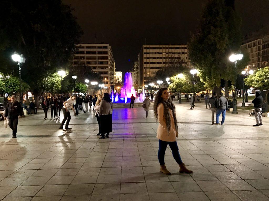 Atena - Parlamentul și Piața Syntagma