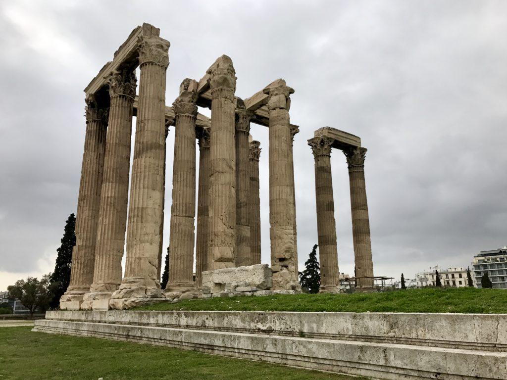 Atena - Templul lui Zeus și Arcul lui Hadrian