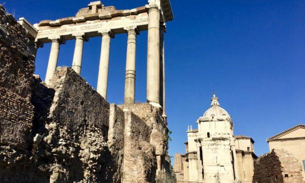 Am plecat din nou la Roma