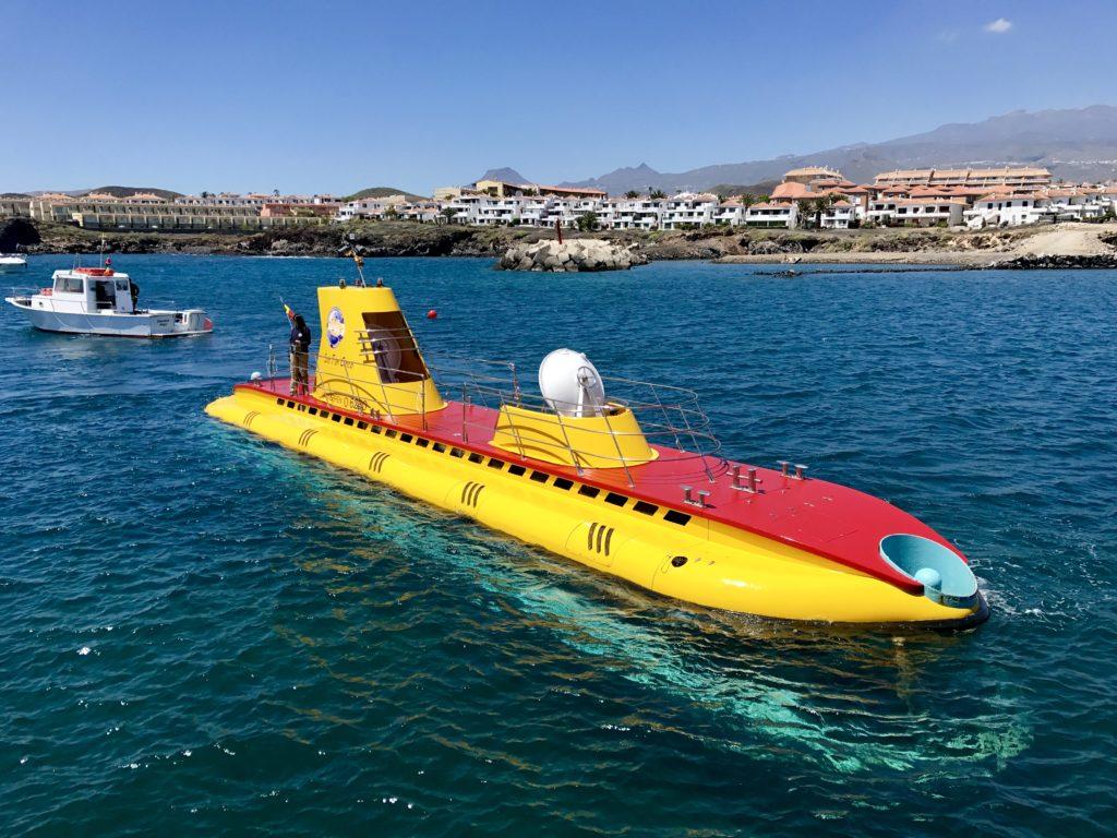 Plimbare cu submarinul în Tenerife