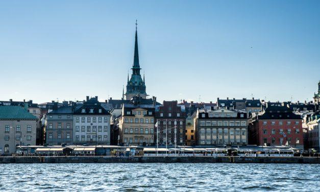 Am pornit să explorez orașul Stockholm!