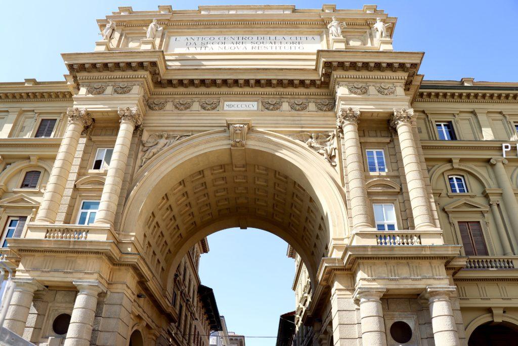 Florența - Piazza della Republica