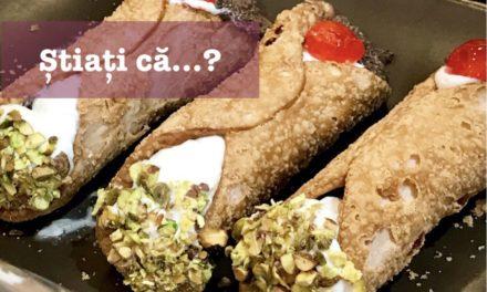 Știați că… îndrăgitul desert cannoli se consuma înainte doar la sărbători?