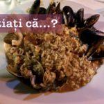Știați că… denumirea de paella provine de la vasul în care acest preparat este gătit?