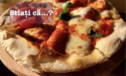 Știați că… pizza se consumă încă din Antichitate, nefiind inventată de către italieni?