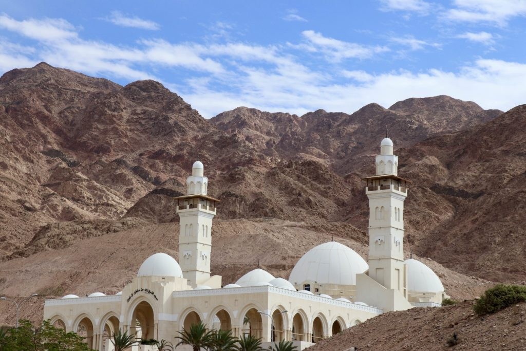 Cea mai mare moschee din Aqaba, Iordania