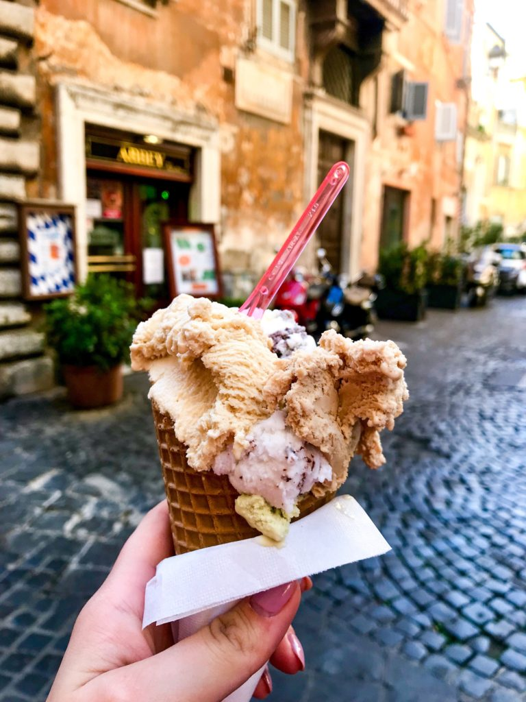 Gastronomie Italiană - gelato