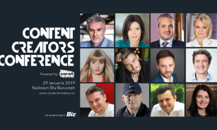 Pe 29 ianuarie are loc prima ediție BIZ Content Creators Conference powered by Caroli