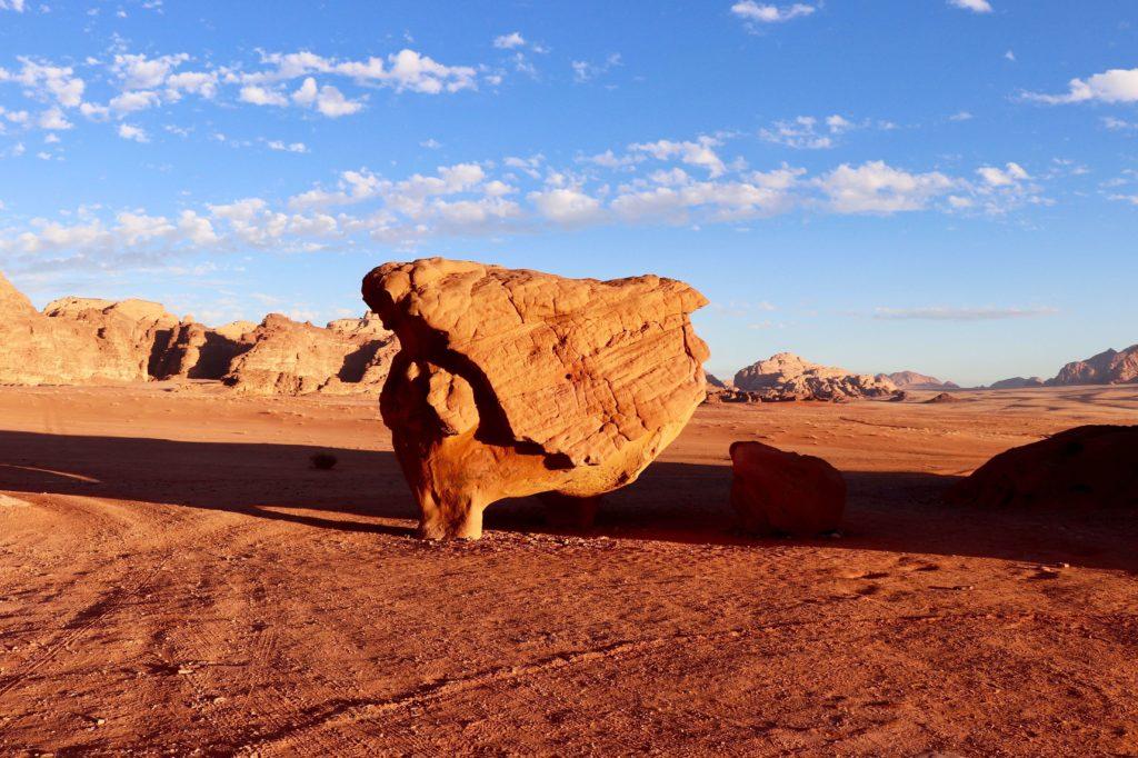 Deșertul Wadi Rum, Iordania