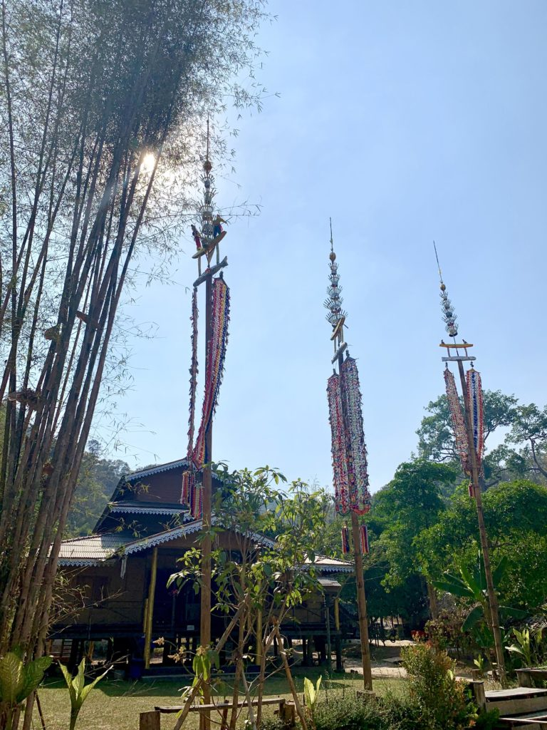Satul Baan Tong Luang, Chiang Mai, Thailanda