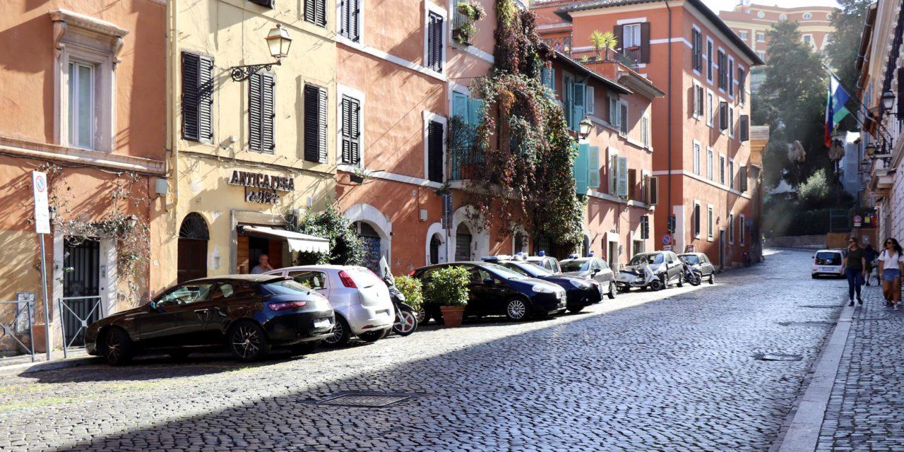 FOTO: Toamna în cartierul Trastevere din Roma