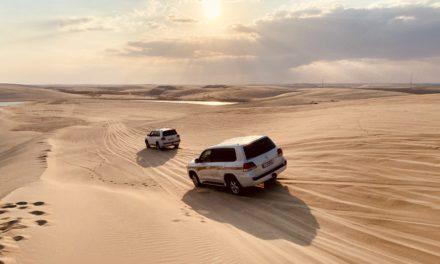 Întâlnire cu dunele din Qatar