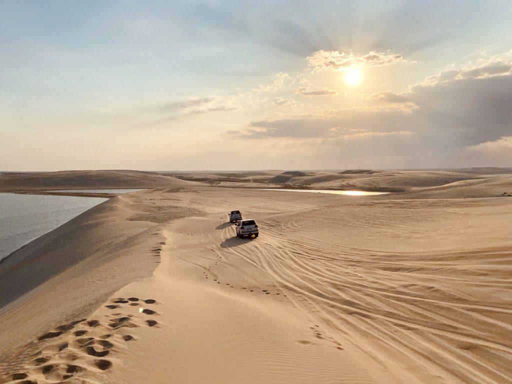 Desert safari, Qatar